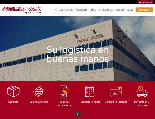 MOLDSTOCK Logística renueva su página web adaptándola a los requerimientos del mercado logístico